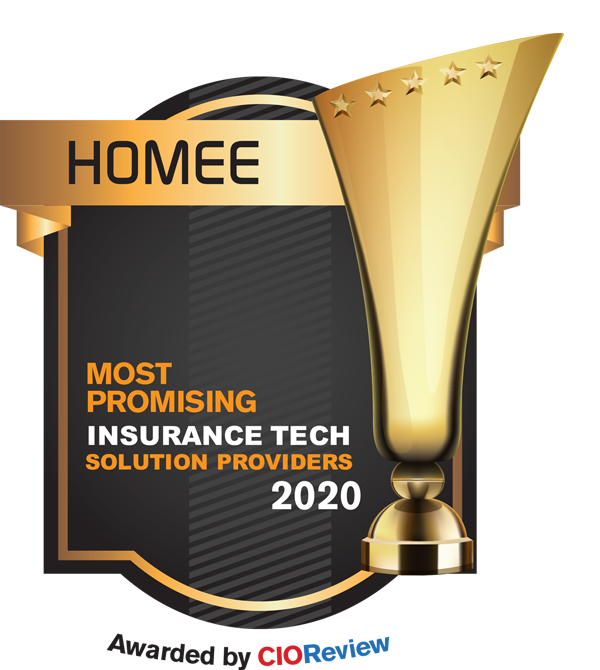 HOMEE Ranked One of the Top Insurance Technology Companies for 2020
